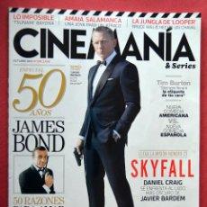 CINEMANIA & SERIES - OCTUBRE 2012 - Nº 205 - 50 AÑOS DE JAMES BOND