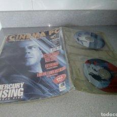 Cine: CINEMA MAGACINE PC NUMERO 10 MERCURY RISING. Lote 76840067