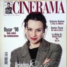 Cine: REVISTA CINERAMA Nº 78 MARZO DE 1999. Lote 77229497