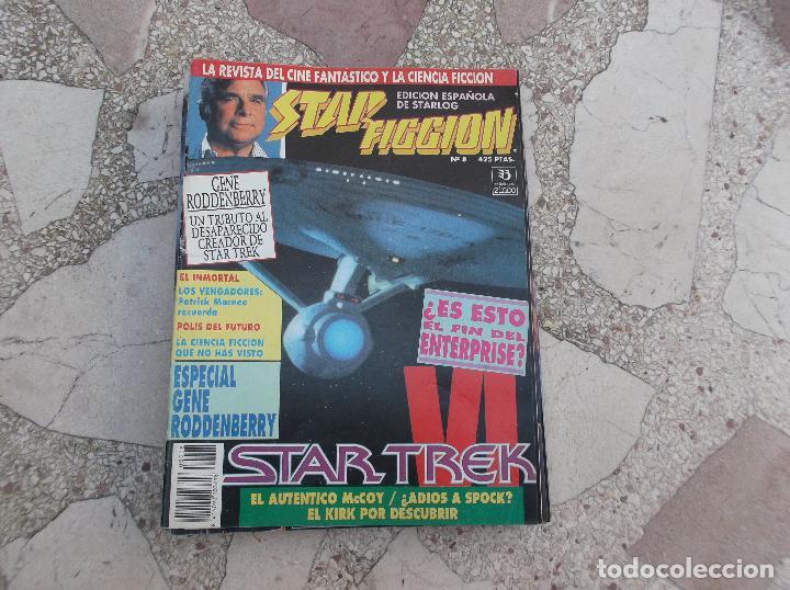 STAR FICCION Nº 8,STAR TREK IV,ESPECIAL GENE RODDENBERRY,LOS VENGADORES, POLIS DEL FUTURO (Cine - Revistas - Star Ficcion)