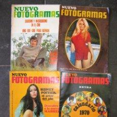 Cine: 4 FOTOGRAMAS Nº 1057 - 1025 - 1123 - 1107 AÑO 1969 - 68 70 MASSIEL SERRAT GIMPERA CALENDARIO. Lote 77557981