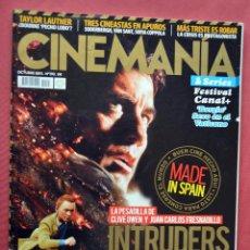 Cine: CINEMANIA & SERIES - OCTUBRE 2011- Nº 193 - INTRUDERS - EL TINTIN DE SPIELBERG Y PETER JACKSON. Lote 77811345
