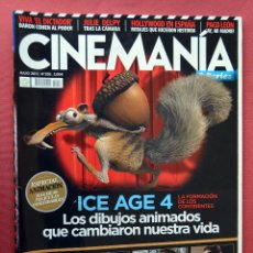 Cine: CINEMANIA & SERIES - JULIO 2012 - Nº 202 - ICE AGE 4 - SPIDERMAN CONTRA BATMAN. Lote 77811773