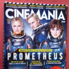 Cine: CINEMANIA & SERIES - AGOSTO 2012 - Nº 203 - PROMETHEUS. Lote 77812489