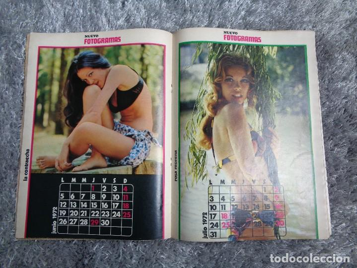 Cine: NUEVO FOTOGRAMAS -- Nº. 1207 -- SEXY CALENDARIO 1972 - NÚMERO EXTRA - Foto 4 - 77930377