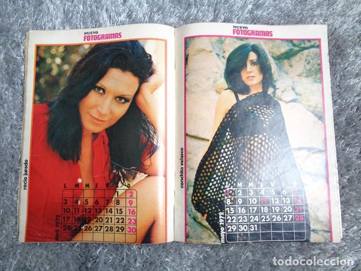 Cine: NUEVO FOTOGRAMAS -- Nº. 1207 -- SEXY CALENDARIO 1972 - NÚMERO EXTRA - Foto 5 - 77930377