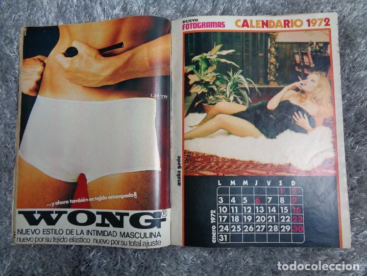 Cine: NUEVO FOTOGRAMAS -- Nº. 1207 -- SEXY CALENDARIO 1972 - NÚMERO EXTRA - Foto 7 - 77930377