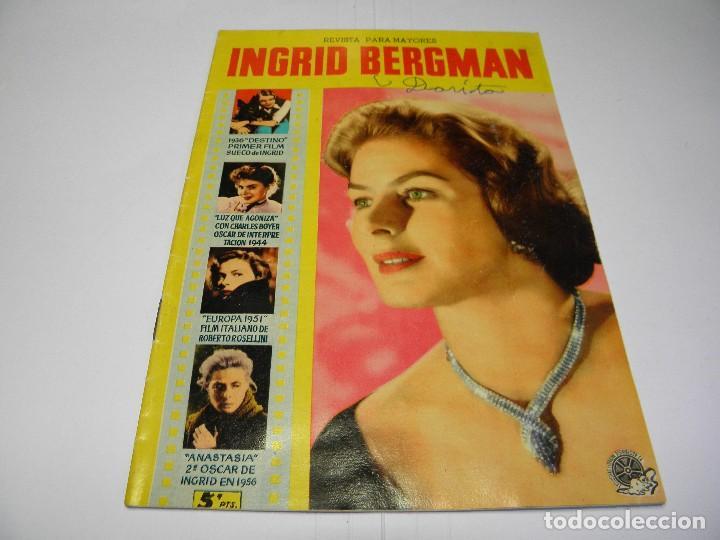 REVISTA INGRID BERGMAN - EDITORIAL FERMA - Nº 25 (Cine - Revistas - Otros)