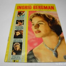 Cine: REVISTA INGRID BERGMAN - EDITORIAL FERMA - Nº 25. Lote 78046589