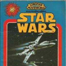 Cine: STAR WARS LONGMAN BASADO EN LA PELICULA GEORGE LUCAS A. 1981. Lote 78312553