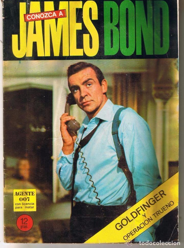 CONOZCA A JAMES BOND: GOLD FINGER / OPERACION TRUENO (Cine - Revistas - Otros)
