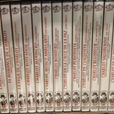 Cine: CHARLIE CHAPLIN COLECCION COMPLETA DE 13 DVDS. Lote 79115745