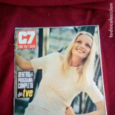 Cine: REVISTA CINE EN 7 DIAS Nº550 1971 CHARLOTTE ZIENNER-TYRONE POWER-SHARON FARRELL KATHERINE HEPBURN. Lote 79671149