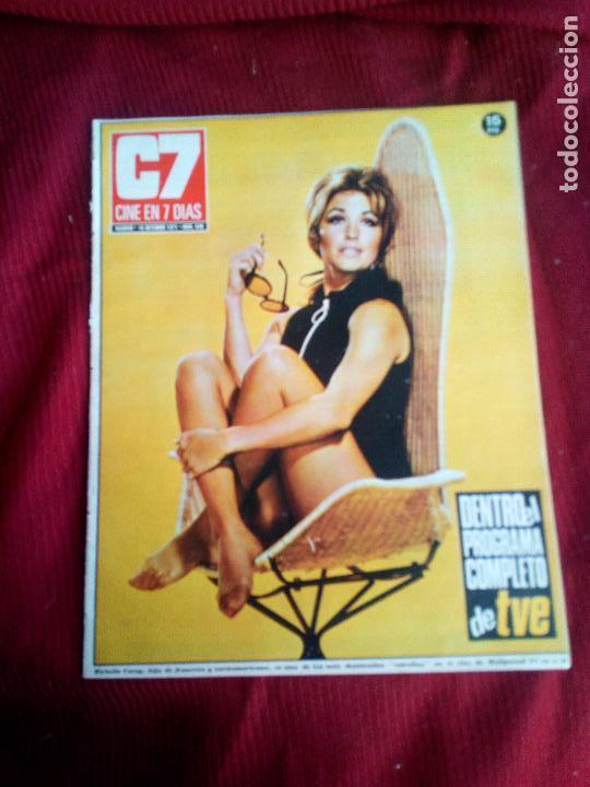 REVISTA CINE EN 7 DIAS Nº549 1971 MICHELLE COREY-LAURA PAULA DIBILDOS-OLGA ANTONY (Cine - Revistas - Cine en 7 dias)