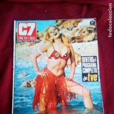 Cine: REVISTA CINE EN 7 DIAS Nº548 1971 BEBA LONCAR-LEE REMICK-CURDJURGENS-. Lote 79672093