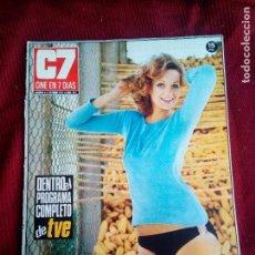 Cine: REVISTA CINE EN 7 DIAS Nº547 1971 MONIQUE CHATELAIN-DON ADAMS-GERALDINE CHAPLIN-SOFIA LOREN. Lote 79672293