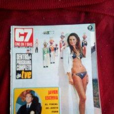 Cine: CINE EN 7 DIAS Nº543 1971 CATHERINE SPAAK-JAVIER ESCRIVA-JULIE CHRISTIE-HORST BUCHOLZ-ENCARNA MOLIN. Lote 79672997
