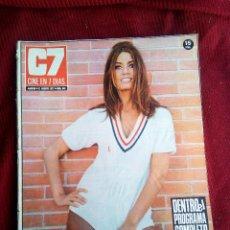 Cine: CINE EN 7 DIAS Nº541 1971 MARISA MELL-MARIA PERSCHY-LUCIA BOSE-JENIFER O'NEIL-GELA GEISLER. Lote 79673685
