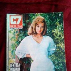 Cine: CINE EN 7 DIAS Nº539 1971 IRA CUSTER-NICOLETTA MACHIAVELO-GLORIA CAMARA-JANE FONDA ROGER VADIM. Lote 79674133
