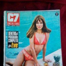 Cine: CINE EN 7 DIAS Nº536 1971 HEIKE PETERS-LEE PURCELL-JANE FONDA. Lote 79674801