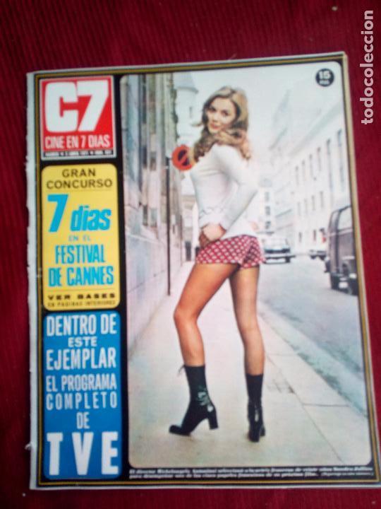 CINE EN 7 DIAS Nº521 1971 SANDRA JULIEN-MARLENE ROBERT-INGRID GARBO-LAURA DIBILDOS (Cine - Revistas - Cine en 7 dias)