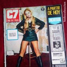 Cine: CINE EN 7 DIAS Nº517 1971 CHRISTINE FERRARE-GINA LOLOBRIGIDA-FLORINDA BOLKAN- MARILYN MONROE (3). Lote 79775153