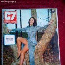 Cine: CINE EN 7 DIAS Nº514 MOLLIE PETERS-DORIS COLL-GIGI LOLLOBRIGIDA-MAI ZETTERLING 1971 . Lote 79881217