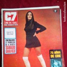 Cine: CINE EN 7 DIAS Nº507 NATI MISTRAL-RACHEL WELCH-SOPHIE DESMARET-PILAR VELAZQUEZ 1971. Lote 79881393