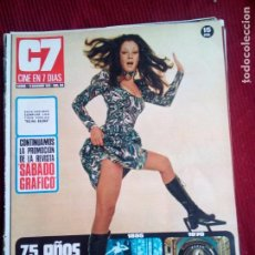 Cine: CINE EN 7 DIAS Nº506 MARIA MONTEZ-GEMMA CUERVO-ENCARNACION PEÑA 1971. Lote 79881625