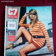 Cine: CINE EN 7 DIAS Nº503 ULLA STRINDBERG-MARIE DUBOIS-CARROL BAKER-MICHELE MERCIER 1971. Lote 79910853
