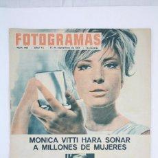 Cine: ANTIGUA REVISTA CINEMATOGRÁFICA - FOTOGRAMAS, AÑO 1965 - MÓNICA VITTI, CARY GRANT.... Lote 79984117