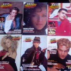 Cine: CLAQUETA LOTE DE 10 REVISTAS (DEL 0 AL 9) 1989. MUY BUEN ESTADO. VER FOTOGRAFÍAS.. Lote 80103941