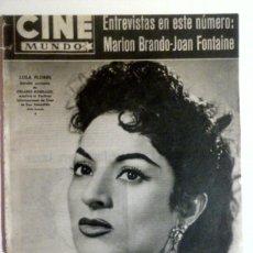 Cine: CINE MUNDO N° 279 20 JULIO DE 1957. Lote 80249438