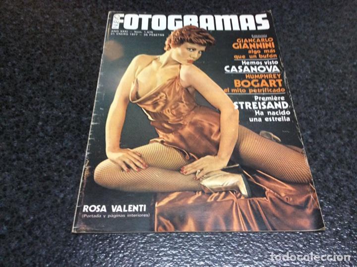 FOTOGRAMAS Nº 1475 AÑO 1977 BEATLES,STREISAND,HUMPHREY BOGART,ROSA VALENTI... (Cine - Revistas - Fotogramas)