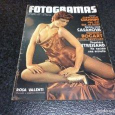 Cine: FOTOGRAMAS Nº 1475 AÑO 1977 BEATLES,STREISAND,HUMPHREY BOGART,ROSA VALENTI.... Lote 80903980