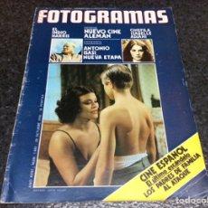 Cinema: FOTOGRAMAS Nº 1463 - 29 OCTUBRE 1976 ESPERANZA ROY, ISABELLE ADJANI,. Lote 80904168
