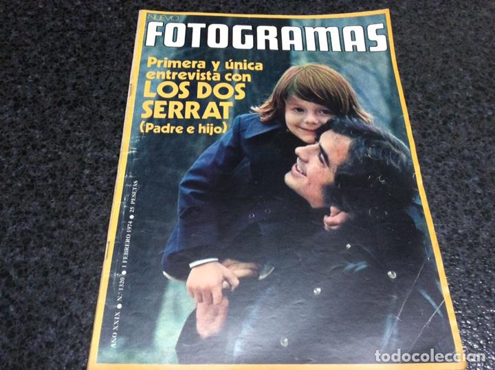 FOTOGRAMAS Nº 1320 AÑO 1974 - SERRAT - RICHARD WIDMARK - LLUIS LLACH (Cine - Revistas - Fotogramas)