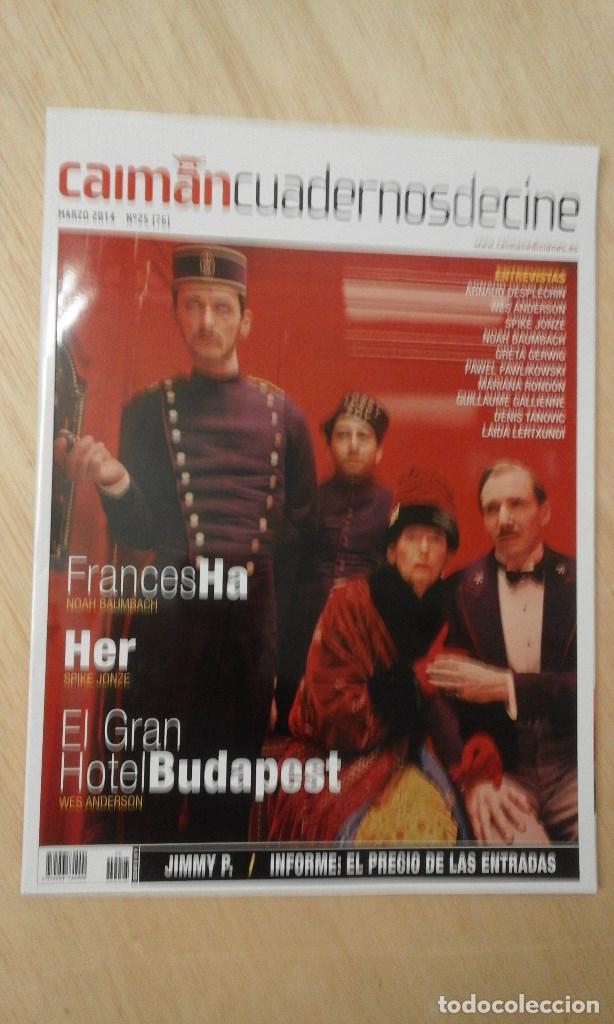 1 REVISTA ** CAIMAN CUADERNOS DE CINE ** EL GRAN HOTEL - Nº 25 MARZO 2014 - (Cine - Revistas - Otros)