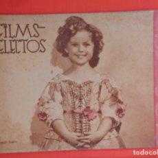 Cine: FILMS SELECTOS Nº 314, SHIRLEY TEMPLE, 1937, 24 PÁGINAS. Lote 81125616