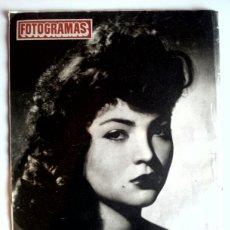 Cine: FOTOGRAMAS N° 137 ° 29 DE JUNIO DE 1951 ° CONTRA PORTADA ( SARA MONTIEL ). Lote 81222374