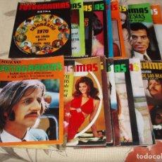 Cine: 9999- REVISTA FOTOGRAMAS AÑO COMPLETO 1970- 52 REVISTAS. Lote 81653188