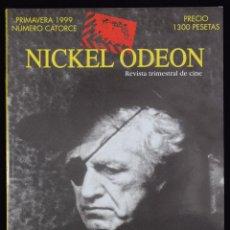 Cine: NICKEL ODEÓN. REVISTA TRIMESTRAL DE CINE. Nº 14. NICHOLAS RAY: EL AMIGO AMERICANO - GUARNER, JOSÉ LU. Lote 81879459