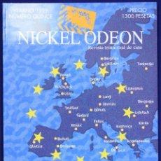Cine: NICKEL ODEÓN. REVISTA TRIMESTRAL DE CINE. Nº 15. EUROPA 2000 - MARÍAS, MIGUEL / GARCI, JOSÉ LUIS / A. Lote 206125920