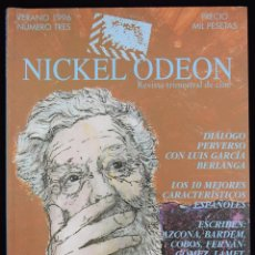 Cine: NICKEL ODEÓN. REVISTA TRIMESTRAL DE CINE. Nº 3: LUIS GARCÍA BERLANGA - GARCÍA BERLANGA, LUIS / MARÍA. Lote 81879471