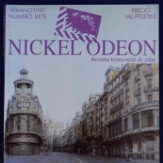 Cine: NICKEL ODEÓN. REVISTA TRIMESTRAL DE CINE. Nº 7. MADRID Y EL CINE - VV.AA.. Lote 81879491