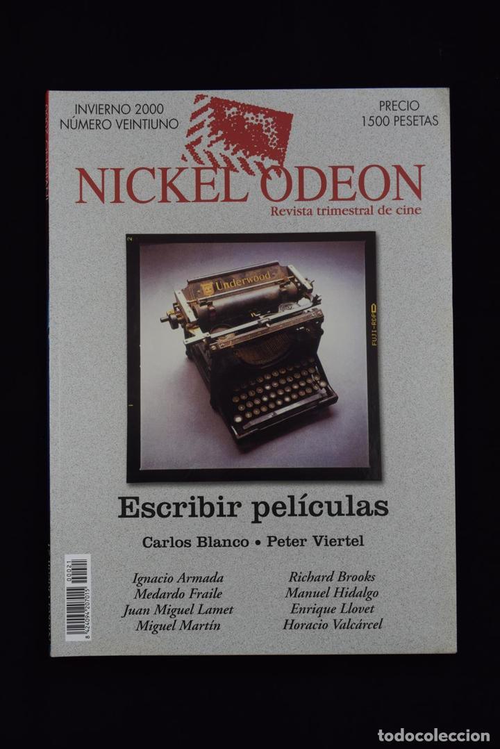 NICKEL ODEÓN. REVISTA TRIMESTRAL DE CINE. Nº 21. ESCRIBIR PELÍCULAS (MONOGRÁFICO GUIÓN) - VV.AA. (Cine - Revistas - Nickel Odeon)