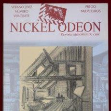 Cine: NICKEL ODEÓN. REVISTA TRIMESTRAL DE CINE. Nº 27. LA DIRECCIÓN ARTÍSTICA - VV.AA.. Lote 97784808