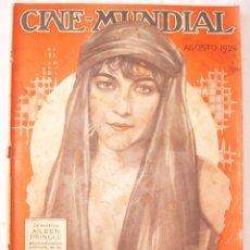 Cine: REVISTA CINE MUNDIAL,AGOSTO 1926, VOL.XI Nº 8 EDITADA POR CHALMERS PUBLISHING COMPANY, NUEVA YORK. Lote 81885644