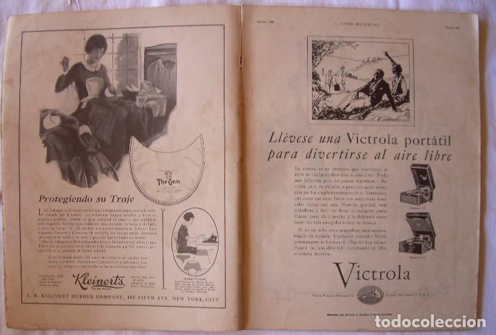 Cine: REVISTA CINE MUNDIAL,AGOSTO 1926, VOL.XI Nº 8 EDITADA POR Chalmers Publishing Company, Nueva York - Foto 2 - 81885644