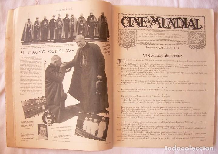 Cine: REVISTA CINE MUNDIAL,AGOSTO 1926, VOL.XI Nº 8 EDITADA POR Chalmers Publishing Company, Nueva York - Foto 4 - 81885644